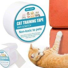 Pet Cat Anti-Scratch Tape Roll Sofa Furniture Door Protector Guard Sticker