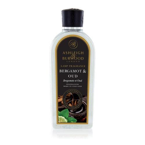 Ashleigh & Burwood 500 ml Premium Fragrance for Catalytic Diffusion Lamp Bergamot & Oud