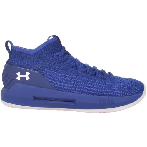 Under Armour UA Mens Trainers Heat Seeker Blue Basketball Sports Gym Shoes
