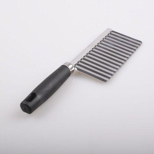 Stainless Steel Potato Chip - Dough , Vegetable , Crinkle Cutter Blade Slicer