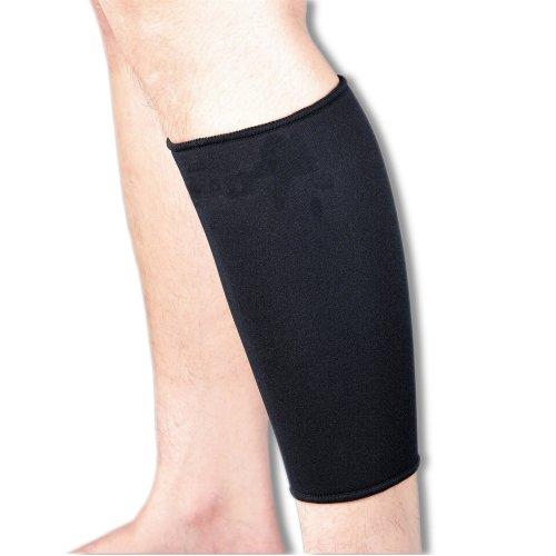 Medical Grade Black Neoprene Calf Support