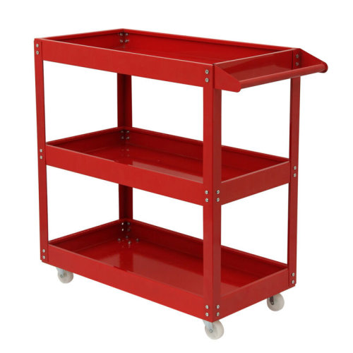 3 Tier Tool Trolley – 200kg | Heavy Duty Wheel Cart For Garage Storage