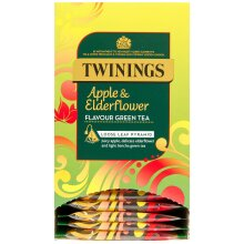 Twinings Apple & Elderflower Green Tea Pyramid Tea Bags - 4x20