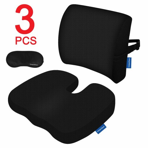CompuClever Portable Travel Pillow