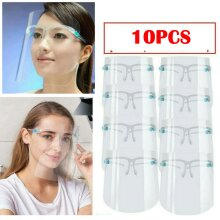 10PACK Full Face Shield Visor Glasses Guard Protection Safety Covering