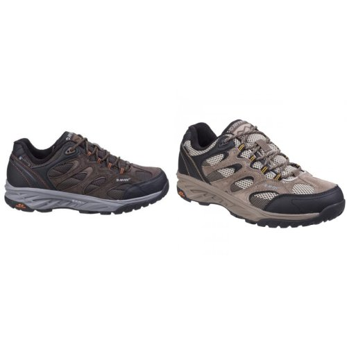Hi-Tec Mens Wild-Fire Low I Waterproof Walking Shoes