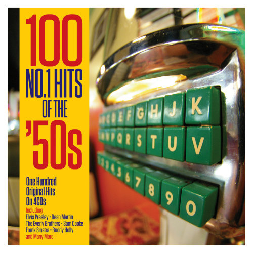 100 NO.1 Hits Of The '50s 100 Original Hits (Various Artists) On 4CD