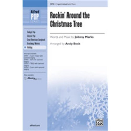 Alfred 00-39705 ROCKIN AROUND THE CMAS TREE-STRX CD