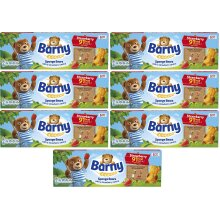 Barny Sponge Bears Strawberry Centre 91kcal Per Bear 7x (5 Pack) Best Before 20TH MARCH21