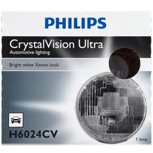 Philips Automotive H6024C1 Halogn Sealed Beam - Pack of 2