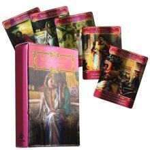 Romance Angel Tarot Good Luck Divination Game