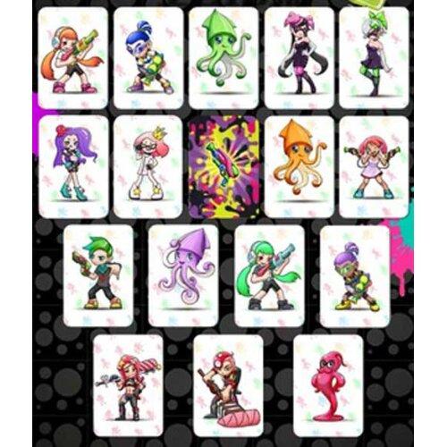 (16pcs Splatoon 2) Zelda/Animal Crossing/Splatoon 2/Mario Kart Series Amiibo NFC TAG Cards