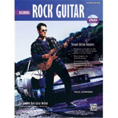 Alfred 00-39325 ROCK BEGINNING GTR 2ND ED-BK&DVD