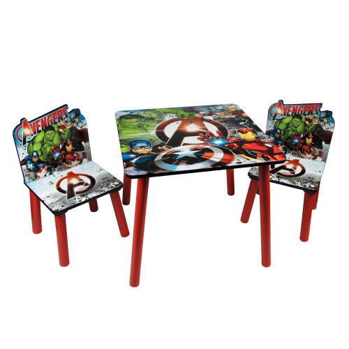 (Avengers) Children's Cartoon Character Table & Chair Set