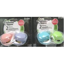 Cherry 0 - 6 Months Tommee Tippee Soothers
