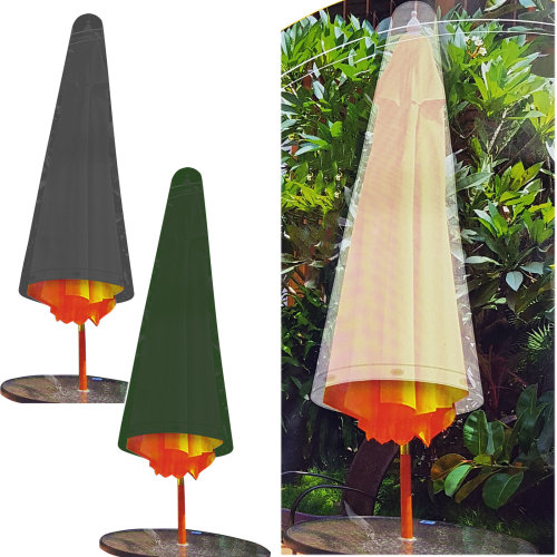 GEEZY Weatherproof Protective Parasol Cover, 120 cm