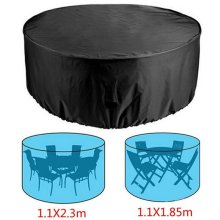 Outdoor Large Waterproof Furniture Cover Garden Patio Table Chair Set Protector