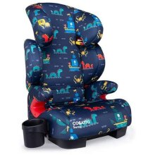 Cosatto Sumo Child Car Seat - Group 2/3, 15-36 kg, 4-12 years, ISOFIT, High Back Booster, 9 Headrest Positions, Reclines (Sea Monster)