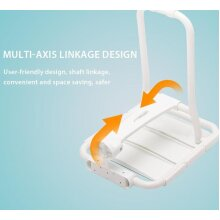Wall Mounted, foldable Shower Seat for elders and seniors