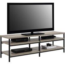 Alphason Elmwood TV Stand For 60 inch TVs - Distressed Grey Oak
