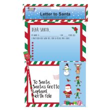 Christmas Children's Letter to / From Santa Activity Pack