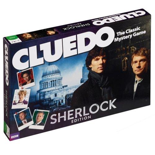 Sherlock Cluedo Game