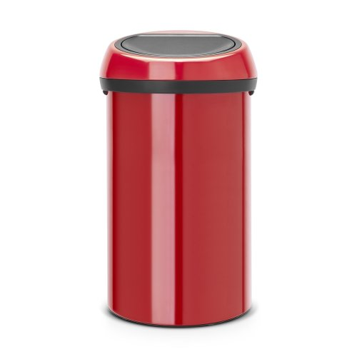Brabantia Touch Bin, 60 L - Passion Red