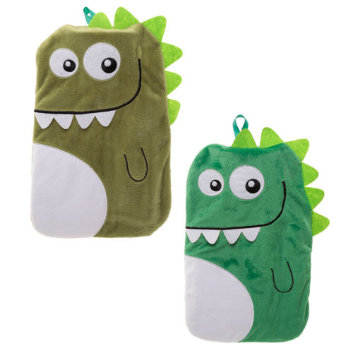 Cute Plush Dinosaur Design 1 Litre Hot Water Bottle and Cover