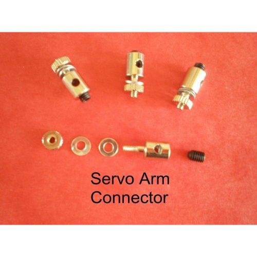 PUSHROD LINKAGE STOPPER SERVO CONNECTORS 1.5- 2mm x 4pcs
