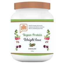 Vegan Weight Loss Chocolate Protein Powder, Pea protein, Plant-Based
