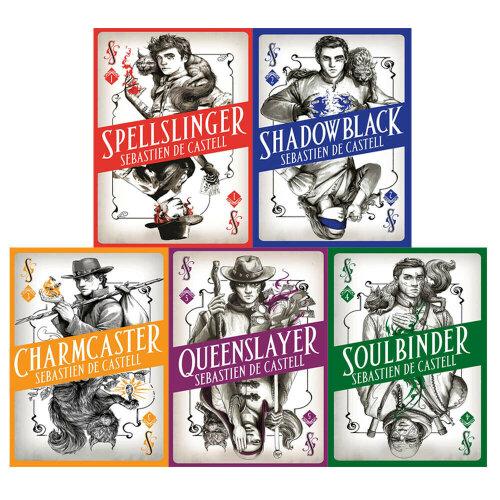 Sebastien de Castell 5 Books Collection Set The Spellslinger Series