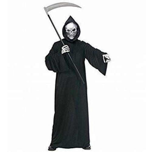 Phantom of Darkness Grim Reaper Death Halloween Fancy Dress Costume Adult Mens