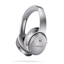 Bose QuietComfort 35 (Series I) Wireless Headphones, Noise Cancelling - Silver - Used