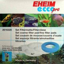 Eheim Filter Pad Set For Ecco Pro 130,200 & 300