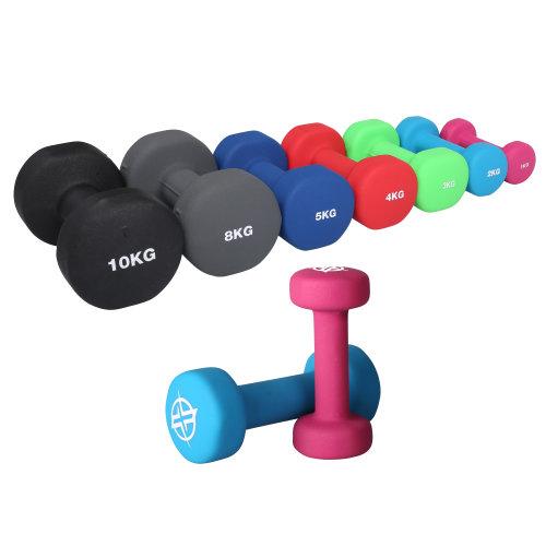 RIP X Pair of Dumb Bells Fitness Set - 1-10kg