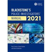 Blackstones Police Investigators' Manual and Workbook 2021
