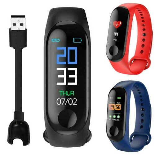 Smart Band Watch Wristband Gym Sports Fitness Tracker Heart Rate Blood Pressure