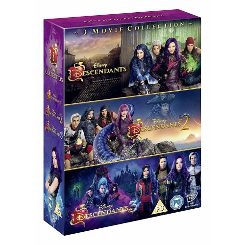 Descendants 1 to 3 DVD [2019]