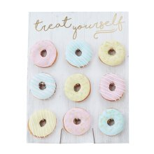 Ginger Ray 'Treat Yourself' Doughnut Display Board | Doughnut Wall