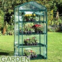 Garden 4 Tier Greenhouse Approx. Measurements: W50 x D45 x H130cm