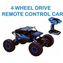 Top Race Remote Control Car For Adults & Kids - RC Monster Truck Buggy With High Speed - Off Road Rock Crawler - Electric 4WD Racing Vehicle Toy
