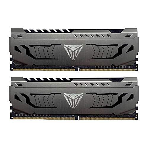 Patriot Viper Steel DDR4 16GB (2 x 8GB) 3733MHz Kit w/Gunmetal Grey heatshield