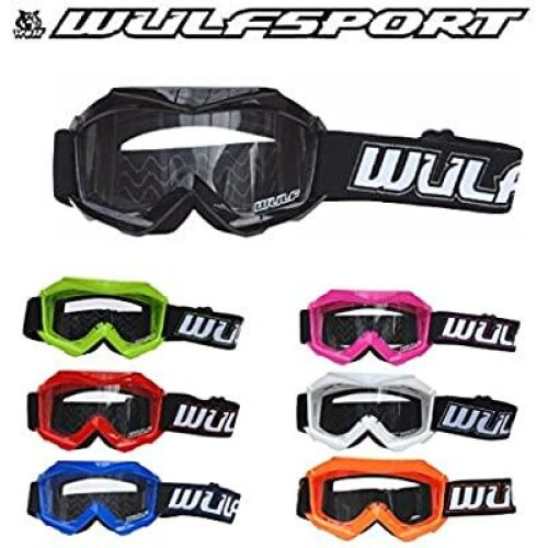 Wulfsport kids motocross goggles all colours available