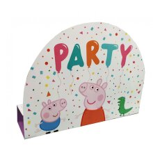 Peppa Pig  Stand Up Party Invitations 8pk