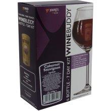 WineBuddy Cabernet Sauvignon 6 Bottle - Home brew Wine Making Kit