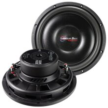 American Bass SL1244 12 in. 600W Shallow Dual Voice Coil Woofer - 4 Ohm