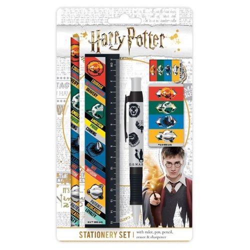 HARRY POTTER House Traits 5 Piece School Stationery Set