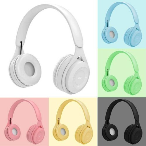 Wireless Bluetooth 5.0 Noise Cancell Headphones Headset Stereo Over Ear Earphone
