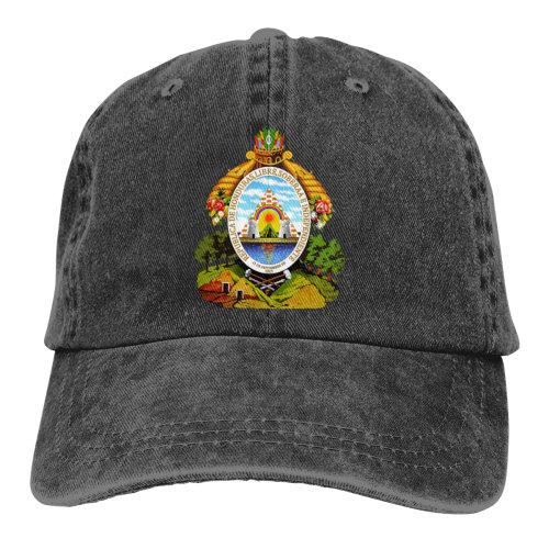 Coat Of Arms Honduras Denim Baseball Caps
