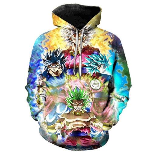 (S) 3D Hoodies with The Japanese Anime Sweatshirt